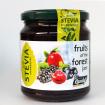 Μαρμελάδα φρούτα του δάσους χωρίς ζάχαρη με στέβια