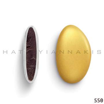 Κουφέτα σοκολάτας Χατζηγιαννάκη bijoux supreme μεταλλιζέ