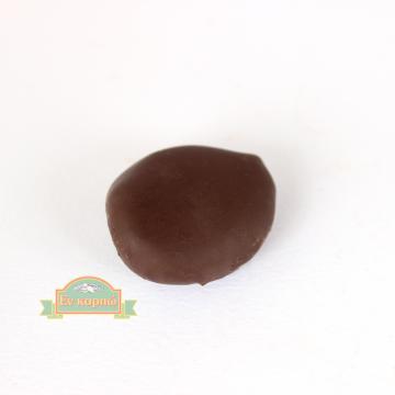 Σοκολατένιο κέρασμα με αληθινό σοκολάτα και ολόκληρο αποξηραμένο δαμάσκηνο