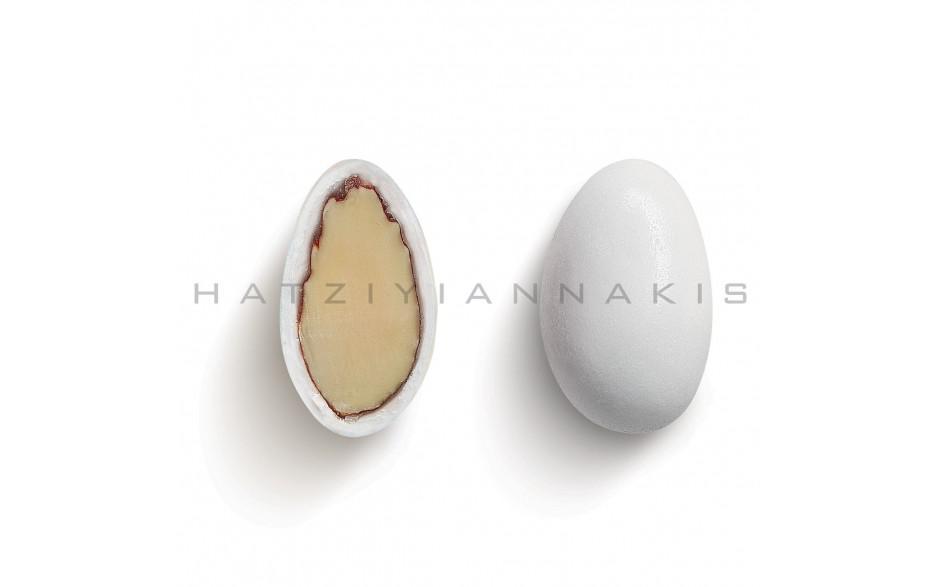 Κουφέτο αμυγδάλου Χατζηγιαννάκη λευκό χρώμα