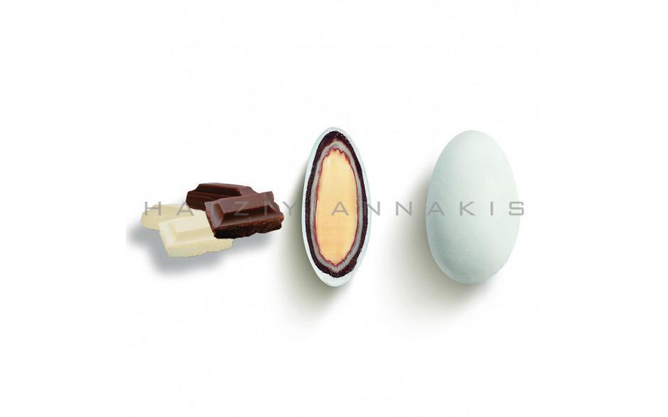 Κουφέτα σοκολάτας με καβουρδισμένο αμύγδαλο Χατζηγιαννάκη
