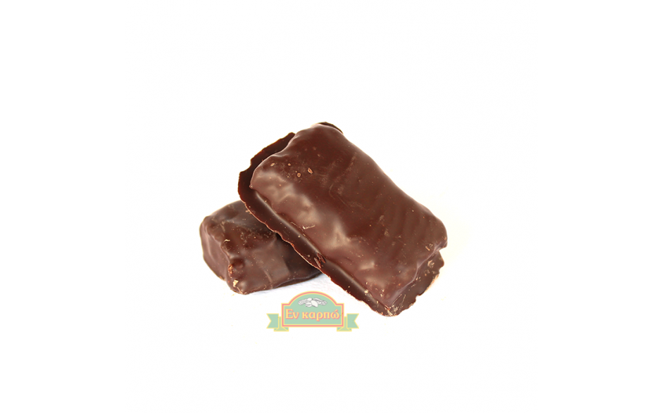 Σοκολατάκι με αληθινή σοκολάτα, βρώμη, φυστικοβούτυρο και πορτοκάλι
