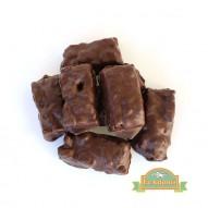 Σοκολατάκι με αληθινή σοκολάτα και καραμελωμένα ξηρούς
