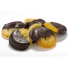 Σιροπιαστή φέτα πορτοκάλι με σοκολάτα